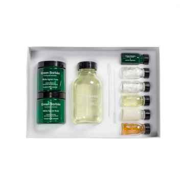 Green Barbès Sada na výrobu bioaktivních krémů, Kit White Agrum 1 sada, 12 ks