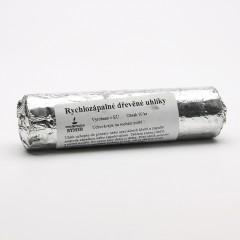 ostatní Rychlozápalné dřevěné uhlíky Floga 10 tablet, 33 mm