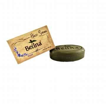 Belina Aleppské mýdlo oválné, Violet 150 g