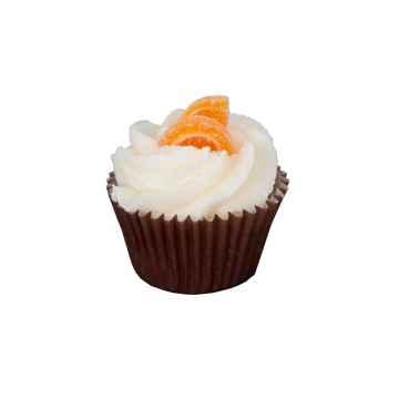 Autour Du Bain Mini cupcake pomeranč a skořice 1 ks
