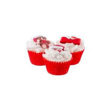 Autour Du Bain Mini cupcake vánoční 1 ks