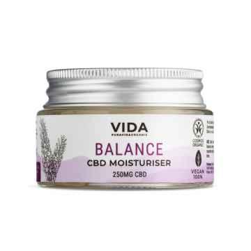 Pura Vida Organic Harmonizující krém s CBD, Levandule 30 ml