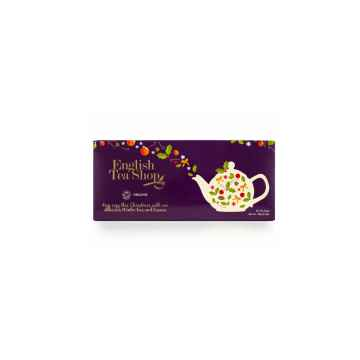 English Tea Shop Vánoční sada fialové Vánoce 1 ks sada, 60 kusů