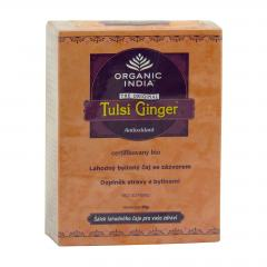 Organic India Čaj Tulsi Ginger, sypaný, bio 50 g