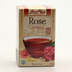 Golden Temple Čaj Yogitea Tao Rose 17 ks, 30 g