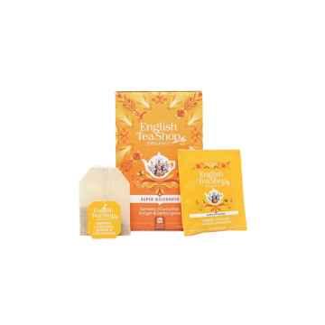 English Tea Shop Kurkuma, zázvor a citronová tráva, bio 35 g, 20 ks