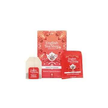 English Tea Shop Červená řepa, jablko a borůvky Super Veggie Tea, bio 30 g, 20 ks