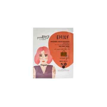 puroBIO cosmetics Látková maska pro suchou pleť Emily Career Girl 14 15 ml