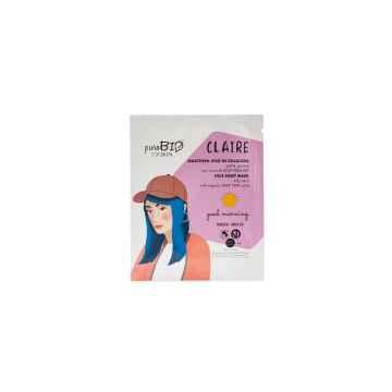 puroBIO cosmetics Látková maska pro mastnou pleť Claire Good Morning 16 15 ml