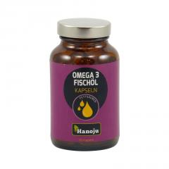 Hanoju Omega 3 lososový olej 90 kapslí