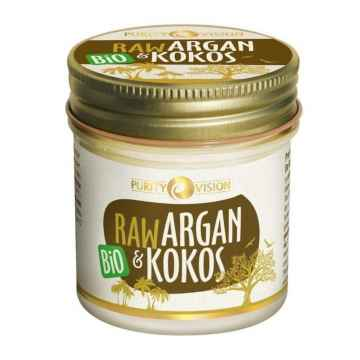 Purity Vision Raw argan a kokos, bio 120 ml