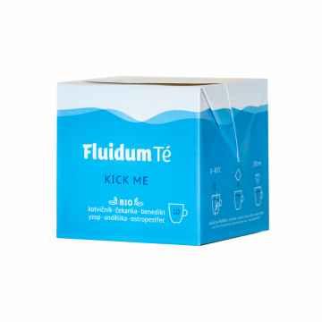 Fluidum Té Kick me, tekutá čajová směs, bio 10 x 10 ml