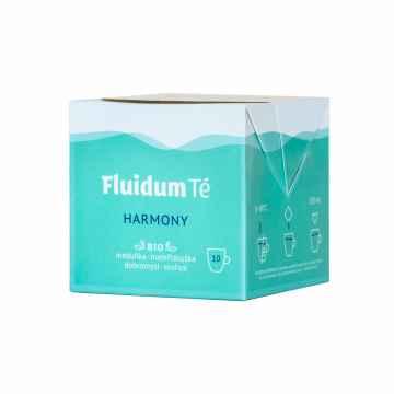 Fluidum Té Harmony, tekutá čajová směs, bio 10 x 10 ml