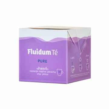Fluidum Té Pure, tekutá čajová směs, bio 10 x 10 ml