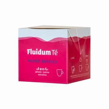 Fluidum Té Power Berries, tekutá čajová směs, bio 10 x 10 ml