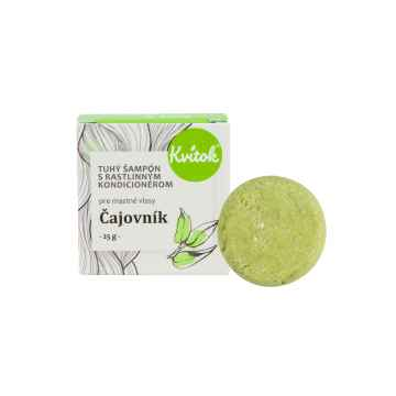 Tuhý šampon s rostlinným kondicionérem, Čajovník 25 g