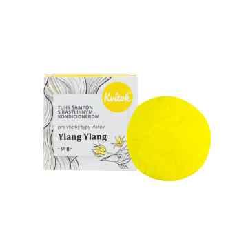 Kvitok Tuhý šampon s rostlinným kondicionérem, Ylang Ylang XXL 50 g