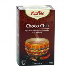 Golden Temple Čaj Yogitea Choco Chili 17 ks, 37,4 g