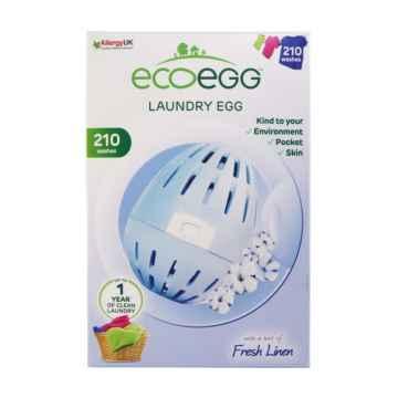 Ecoegg Vajíčko na praní 210 praní, svěží bavlna