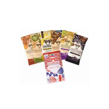 Chimpanzee Set Čokoláda a ořech 6x tyčinek+1x bonbóny