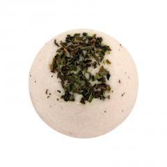 Ceano Cosmetics Krémová kulička do koupele malina 1 ks, 50 g