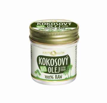 Purity Vision RAW kokosový olej, BIO 120 ml