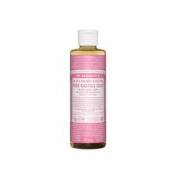 Dr. Bronner's Tekuté universální mýdlo ALL-ONE!, Cherry Blossom 240 ml