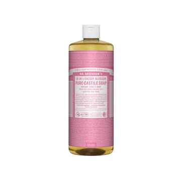 Dr. Bronner's Tekuté universální mýdlo ALL-ONE!, Cherry Blossom 945 ml