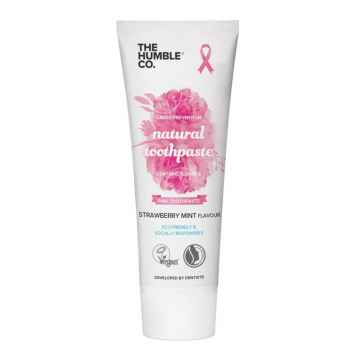 Humble Brush Zubní pasta s fluoridem, Pink Ribbon 75 ml
