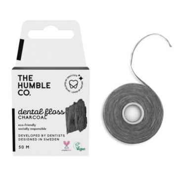 Humble Brush Černá zubní nit 50 m