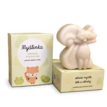 Mydlinka Dětské přírodní heřmánkové mýdlo, liška 90 g