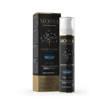 Mossa Intenzivní vyhlazující noční krém, Age Excellence 50 ml
