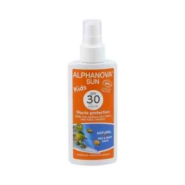 Alphanova Opalovací krém ve spreji pro děti SPF 30 125 g