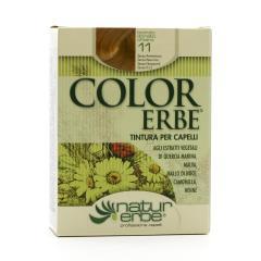 Color Erbe Barva na vlasy Světlá zlatavá blond 11, Natur 135 ml