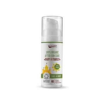 WOODEN SPOON Dětský organický olej po opalování Baby & Family 50 ml