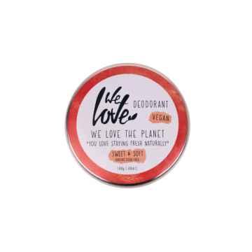We Love The Planet Přírodní krémový deodorant, Sweet & Soft 48 g