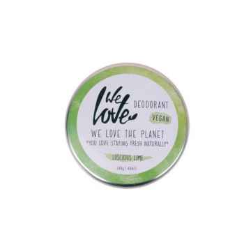 We Love The Planet Přírodní krémový deodorant, Lucious Lime 48 g