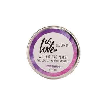 We Love The Planet Přírodní krémový deodorant, Lovely Lavender 48 g