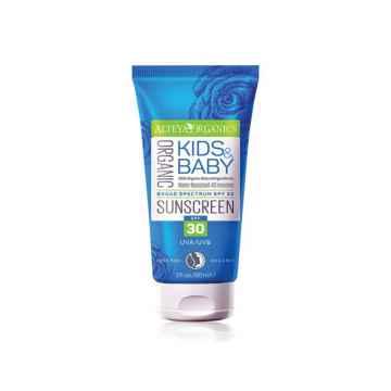 Alteya Organics Opalovací krém pro děti SPF 30 90 ml