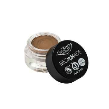 puroBIO cosmetics Browmade, pomáda na obočí 01 ash 4 ml
