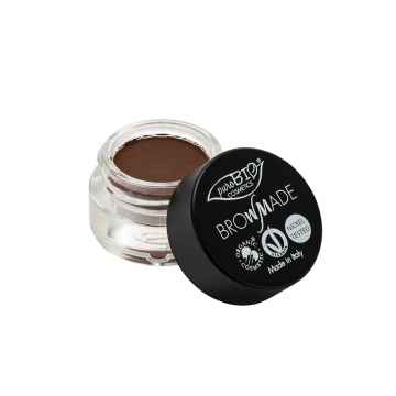 puroBIO cosmetics Browmade, pomáda na obočí 02 warm brown 4 ml