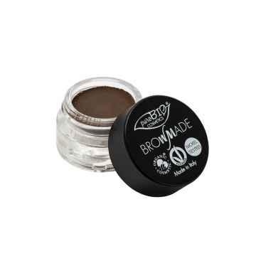 puroBIO cosmetics Browmade, pomáda na obočí 03 dark dove grey 4 ml