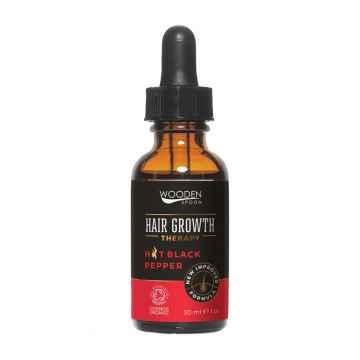 WOODEN SPOON Sérum pro růst vlasů s černým kořením 30 ml