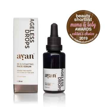 AYAN Ageless drops Rejuvenating face serum, omlazující obličejové sérum 30 ml