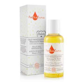 NeBiolina Mamma & Bebé Masážní olej pro miminka i maminky 100 ml