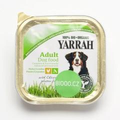 Yarrah Kousky kuřecí se zeleninou pro psy 150 g
