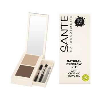 SANTE Sada na úpravu obočí/Natural Eyebrow Kit 2,4 g