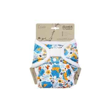 Petit Lulu Svrchní kalhotky 1 ks, Hroši v triku