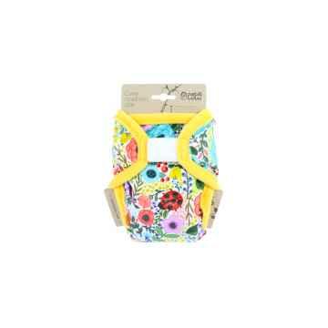 Petit Lulu Novorozenecké svrchní kalhotky 1 ks, Rozkvetlá zahrada