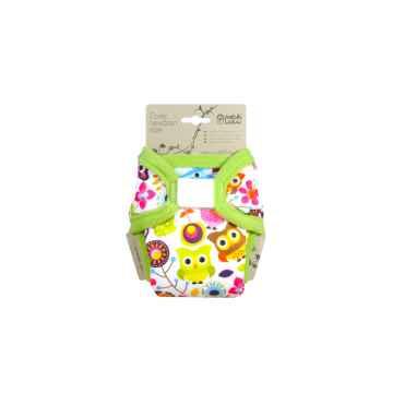 Petit Lulu Novorozenecké svrchní kalhotky 1 ks, Veselé sovičky